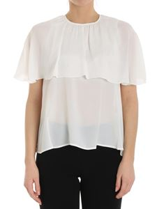 See by Chloé - White blouse with ruffles