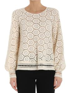 See by Chloé - Cream-colored lace top