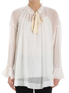 See by Chloé - White blouse with drawstring