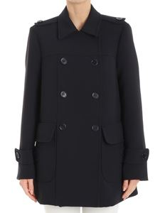Red Valentino - Blue unlined coat