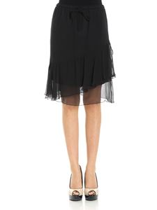 See by Chloé - Black skirt with ruffles