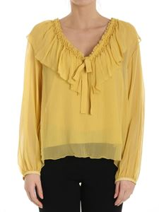See by Chloé - Yellow georgette silk blouse