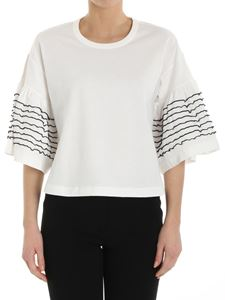 See by Chloé - White top with flared sleeves