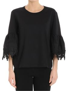 See by Chloé - Black flared sleeves top