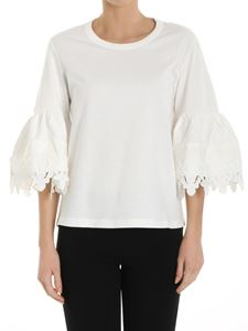 See by Chloé - White flared sleeves top
