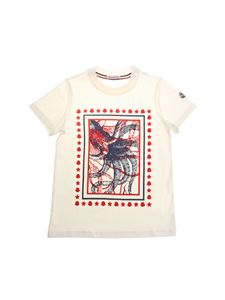 Moncler Jr - White octopus T-shirt