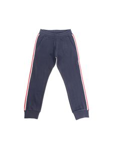 Moncler Jr - Blue cotton pants