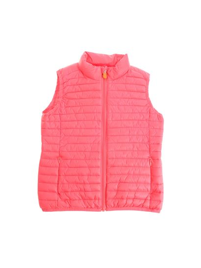Save the duck - Pink padded waistcoat