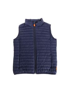 Save the duck - Blue padded waistcoat