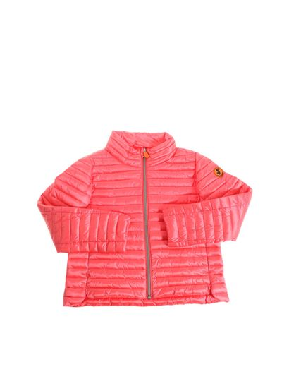 Save the duck - Coral colored padded jacket