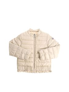Moncler Jr - Beige Abricot down jacket