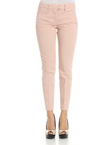 Dondup - Pink cotton trousers