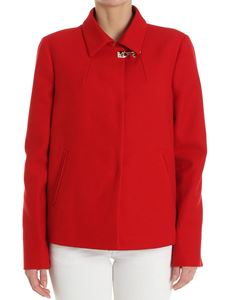 Fay - Red cotton jacket