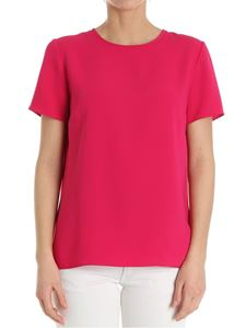 Parosh - Fuchsia top with vent on the back