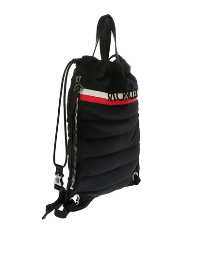 Moncler New Kinly black backpack pO1joXfTLW