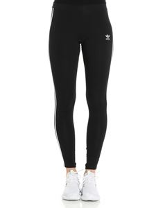 Adidas Originals - Leggings nero in cotone