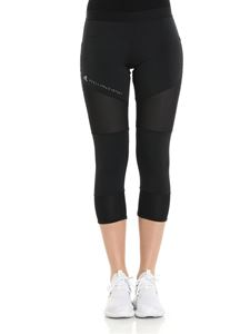 Adidas by Stella McCartney - Leggings nero in Climalite