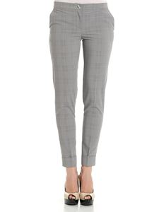 Trussardi Jeans - Gray Prince of Wales trousers