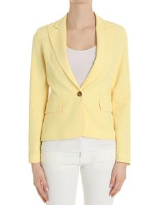 Trussardi Jeans - Yellow single-breasted jacket