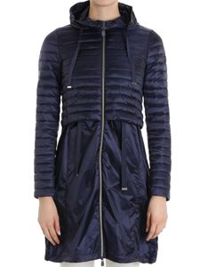 Save the duck - Blue hooded jacket