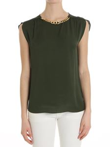 Michael Kors - Army green top with chain