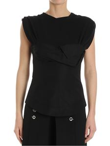 Alexander Wang - Black top with bodice