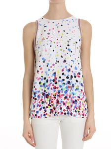 Iceberg - White top with multicolor spots