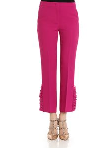 N° 21 - Purple trousers with ruffles