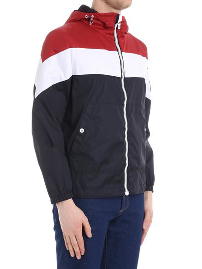 moncler red white blue