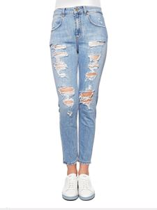 Dondup - Light-blue Biva jeans with rips
