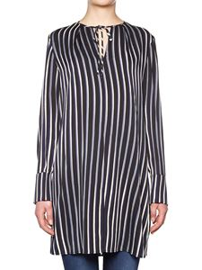 Diane von Fürstenberg - Striped blouse in shades of blue