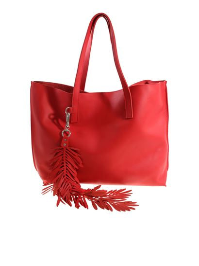 Parosh Red bag with charm eXbbiHLXkS