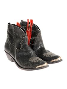 Golden Goose Deluxe Brand - Black Young leather boots
