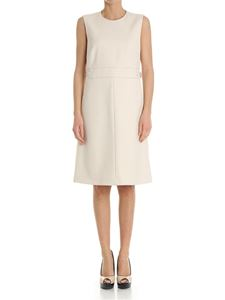 Red Valentino - Cream-colored dress with waist straps