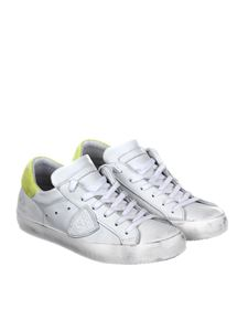 Philippe Model - Paris sneakers with yellow back