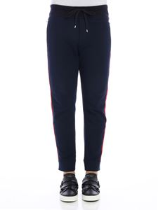 Ermanno Scervino - Blue sweat pants with side bands