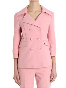 Ermanno Scervino - Pink double-breasted jacket