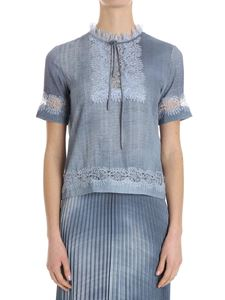 Ermanno Scervino - Denim effect top