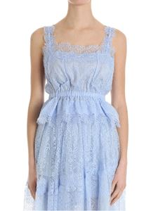 Ermanno Scervino - Light blue lace top