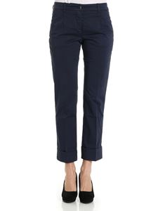 Fay - Trousers with turn-ups on the bottom