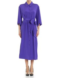 Diane von Fürstenberg - Purple shirt-dress