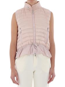 Moncler - Pink down padded waistcoat