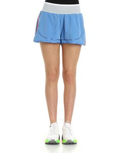 Adidas by Stella McCartney - Two in one light blue sport shorts