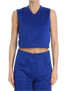 Givenchy - Electric blue crop top