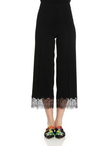 Ermanno Scervino - Trousers with lace insert