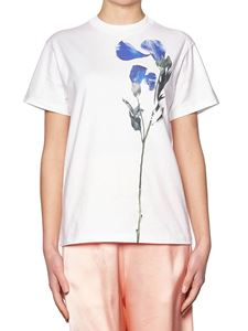 Golden Goose Deluxe Brand - Crewneck t-shirt with floral print