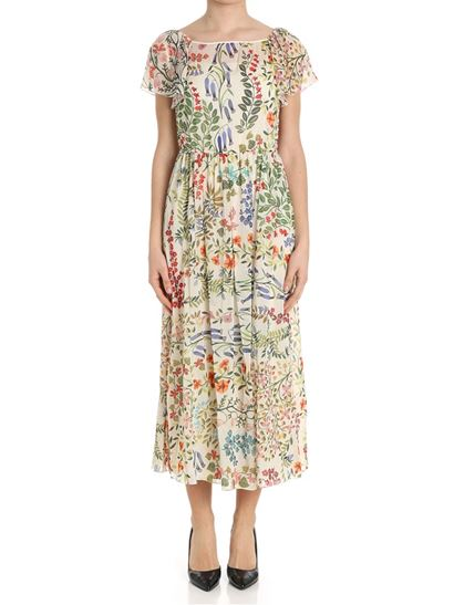 Multicolor floral dress Red Valentino
