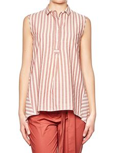 Eleventy - Red and white striped top