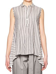 Eleventy - Blue and white striped top