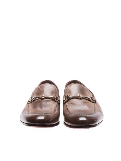 Smoky brown leather loafers Doucal's Clearance Ebay Cheap In China Free Shipping 100% Authentic Shopping Online Outlet Sale CcewUEb